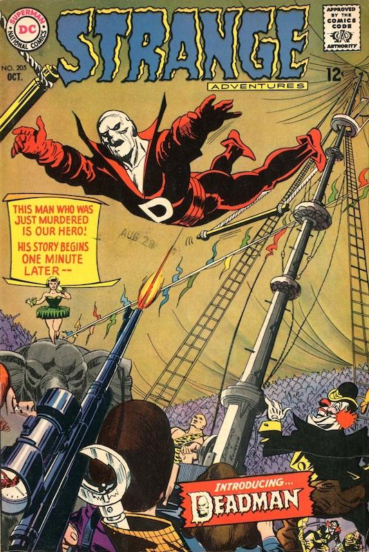 Strange Adventures #205 (1967):  Arnold Drake writer  Carmine Infantino artist, cover, penciler  George Roussos artist, cover, inker  Jack Miller editor