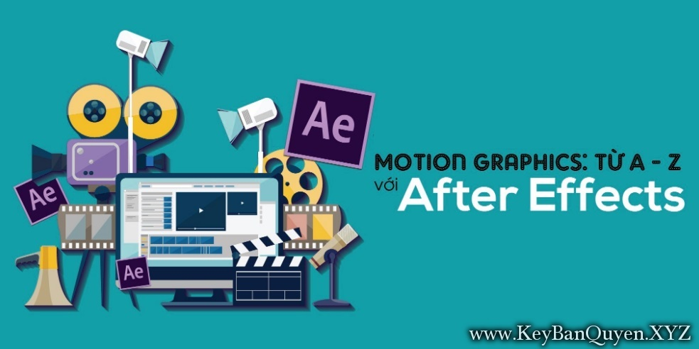 Video khóa học Monition Graphic với After Effects