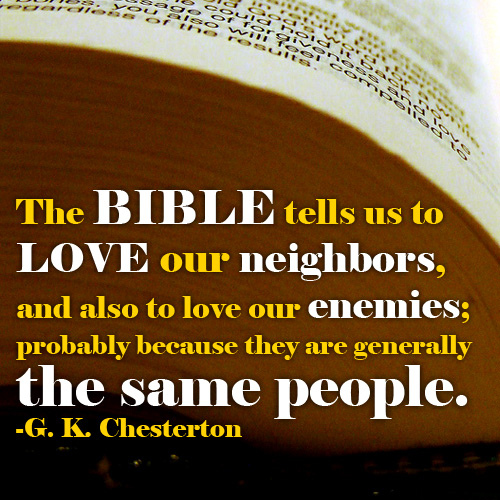 The Animated Catholic Quotes G K Chesterton The Bible