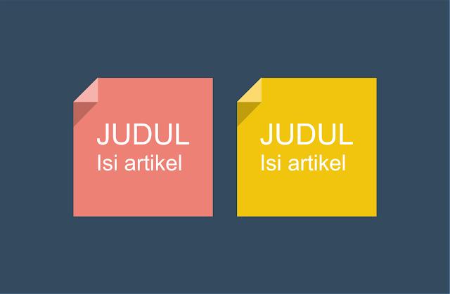 Cara Menghilangkan Judul Blog pada Tab View