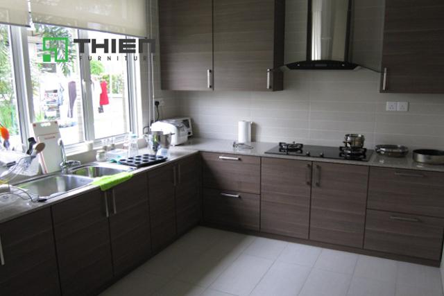 Những thiết kế tủ bếp hiện đại cho căn hộ chung cư - www.TAICHINH2A.COM