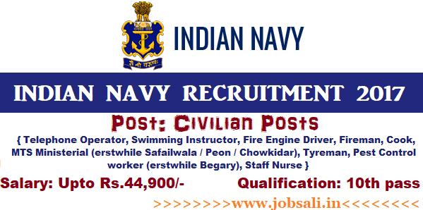 Indian Navy jobs, Join Indian Navy, Indian Navy Vacancy