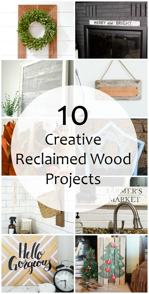 10 Creative ways to use reclaimed wood