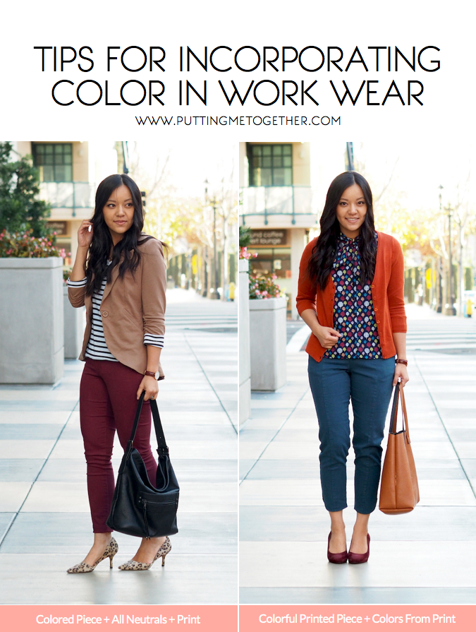 Colorful Business Casual Outfits