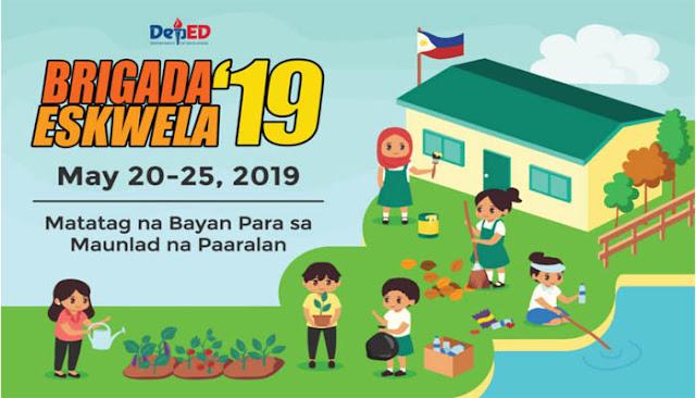 2019 Brigada Eskwela Forms and Official Designs