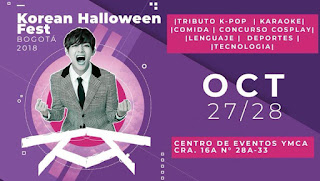 Korean Halloween Fest Bogotá 2018