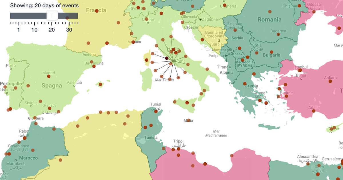Riskmap: la piattaforma che calcola il grado di rischio di una regione