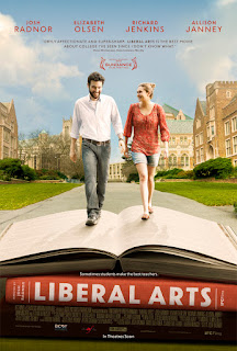 Liberal Arts movie poster Elizabeth Olsen