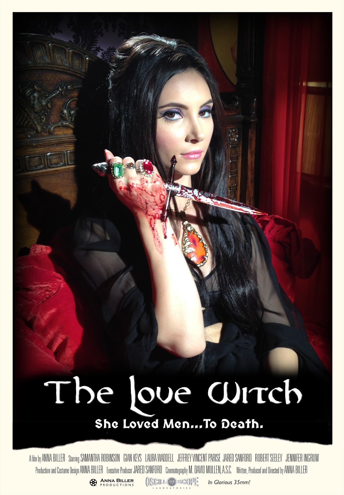 Ellen page films where she breaks the mold pop mythology - Movie Review The Love Witch 2016