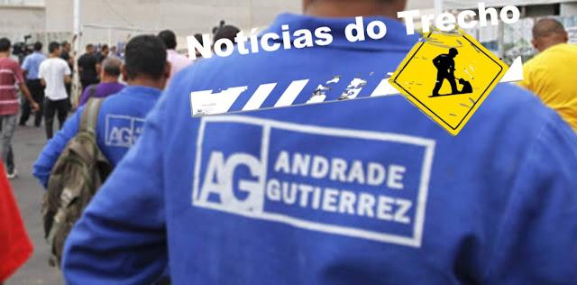Resultado de imagem para Andrade Gutierrez NOTICIAS TRECHO