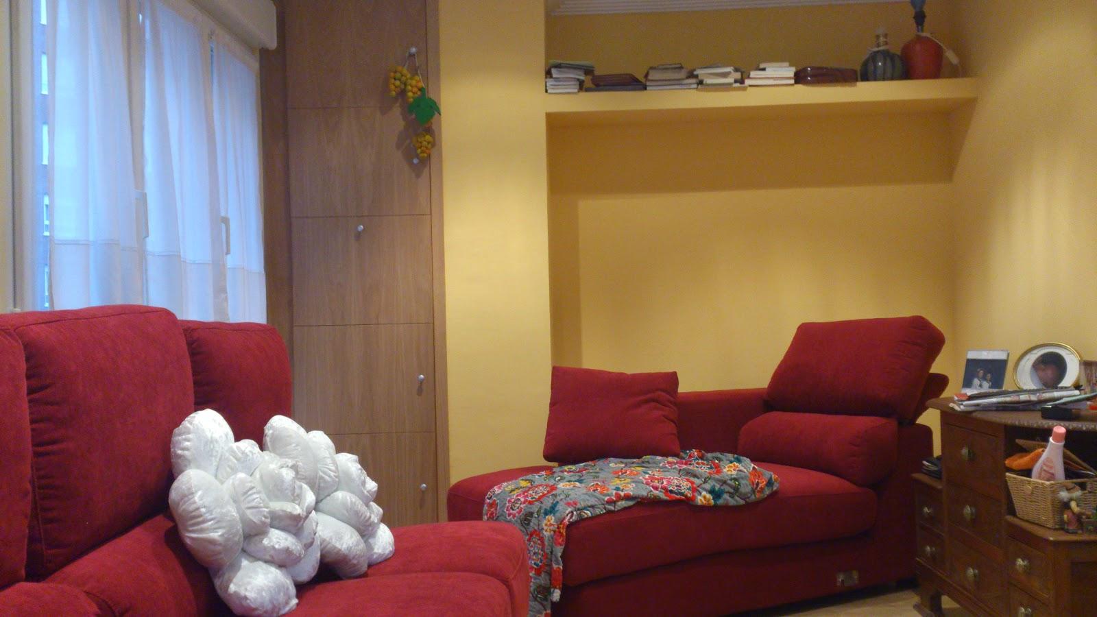 Interiorismo y decoracion lola torga nueva distribuci n for Distribucion salon comedor pequeno espacio