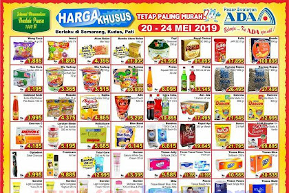 Promo Katalog Ada Swalayan Weekday Harga Khusus 20 - 24 Mei 2019
