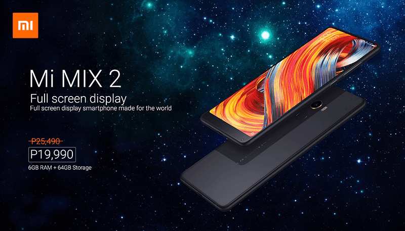 Sale Alert: Xiaomi Mi MIX 2 with SD835 is down to just PHP 19,990