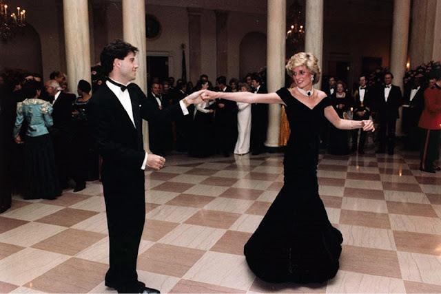 Image: Princess Diana, Princess of Wales, dancing with actor John Travolta, by Skeeze on Pixabay