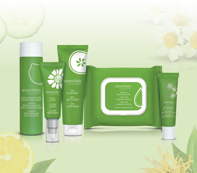essentials termékek érzékeny bőrre
