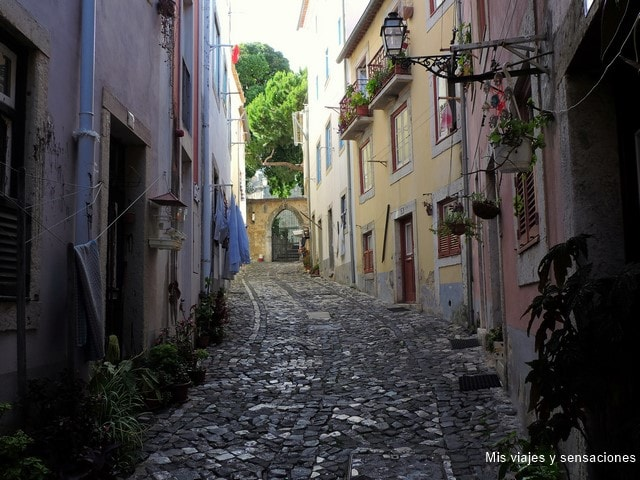 Castillo de San Jorge, Castelo de Säo Jorge, Barrio de Alfama, Lisboa