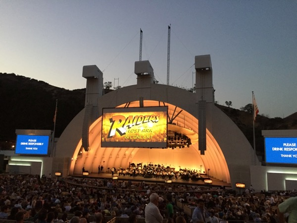 Indiana Jones Raiders of the Lost Ark Hollywood Bowl