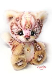 NatalKa Creations, Natalie Lachnitt, artist teddy bear, Künstlerteddy, fantasy kitten, Katze, пушистый кот, artist cat, teddy cat, авторская игрушка