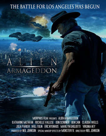 Poster Of Alien Armageddon 2011 Dual Audio 300MB DVDRip 480p Free Download Watch Online