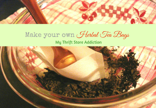 DIY herbal tea bags