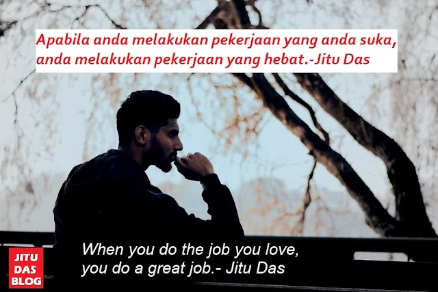 Indonesain quotes about love and life, inspirational with english translation by Jitu Das quotes