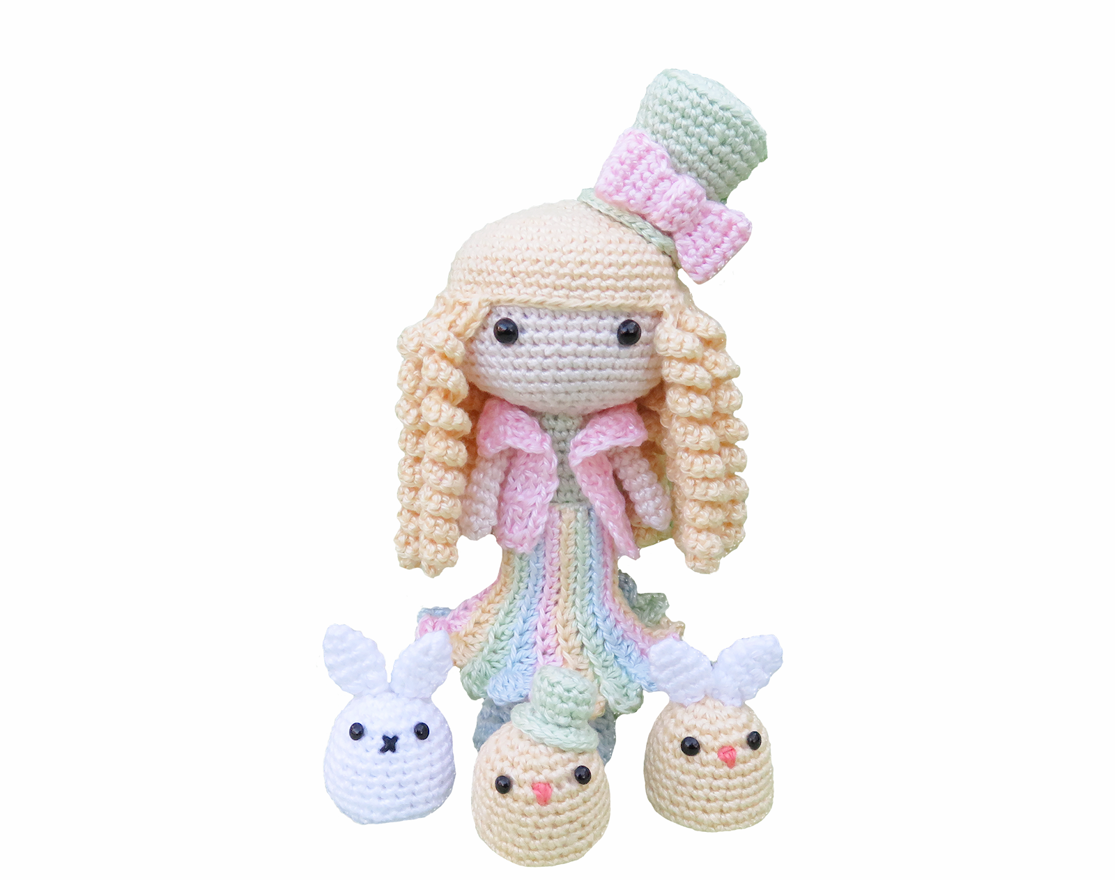 Spring Amigurumi Doll, Crochet Pattern - Sayjai Amigurumi Crochet ...