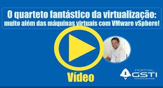 Vídeo Gravado Durante uma Palestra Virtual Via Hangout