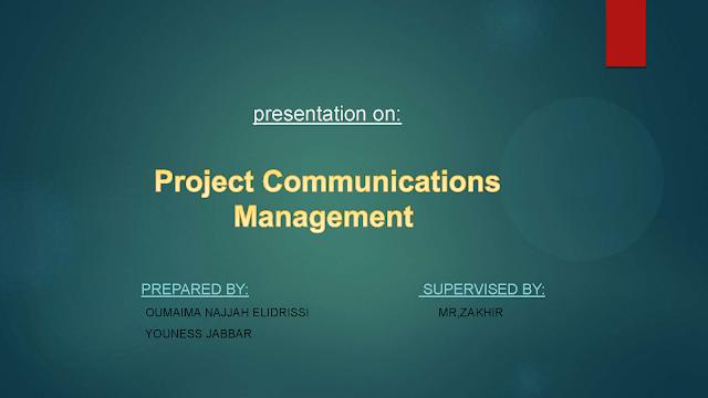 Project Communication Management pdf