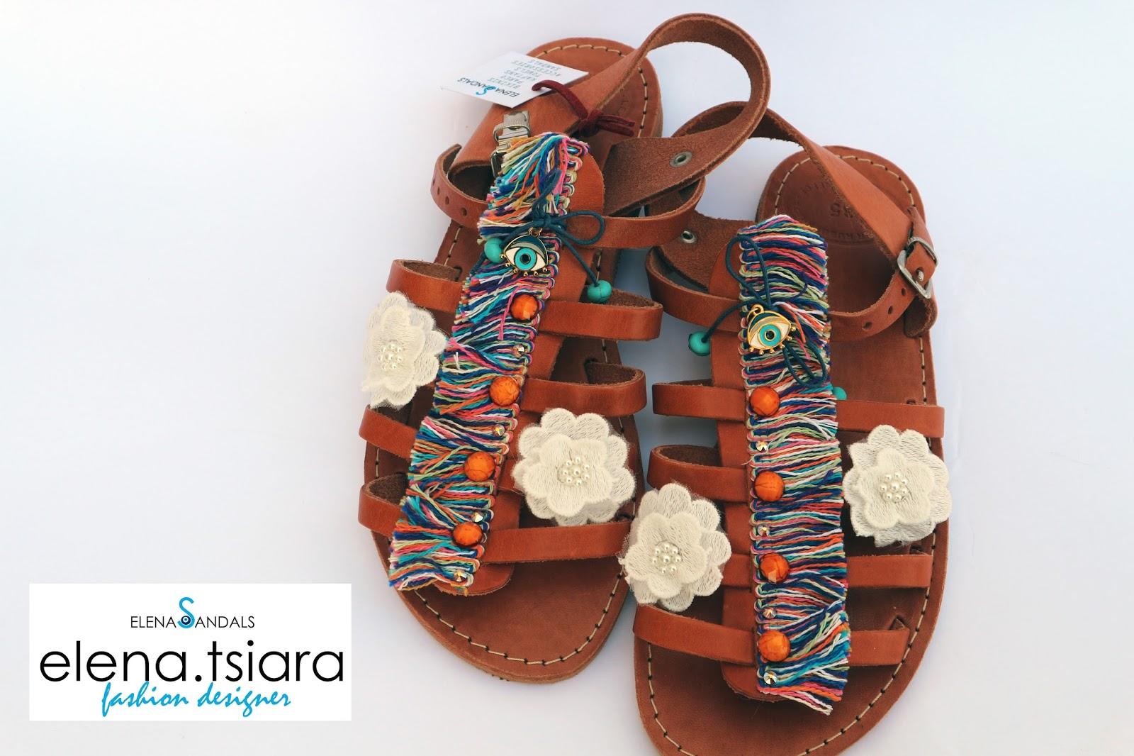 89205a40ce8 elenas sandals: Παιδικά σανδάλια