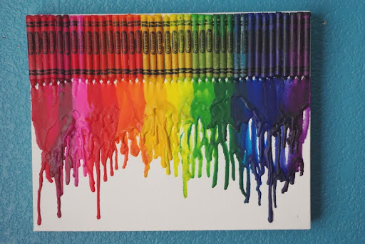 Five Things Friday: Crayon Art Ideas (1/5)
