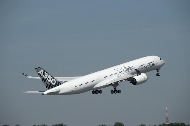 Airbus A350 XWB First Maiden Flight