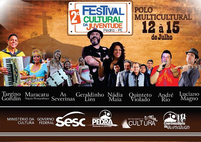 Pedra realiza 2.º Festival Cultural da Juventude