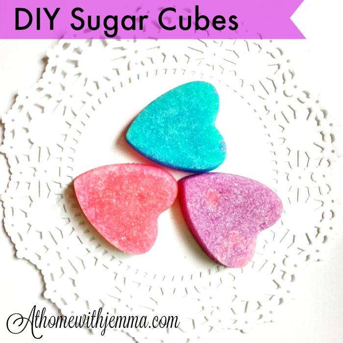 Giveaway Winner & DIY Sugar Cubes