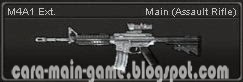 M4A1 Ext.  Senjata Point Blank PB Weapon