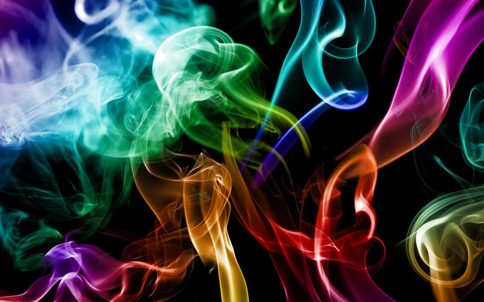 wallpapers: Colorful Smoke Wallpapers