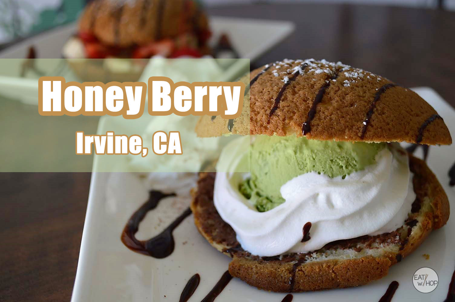 Freshly Baked Roti Buns, Shaved Snow, Teas & Corn Milk Too! Get It All @ HoneyBerry - Irvine