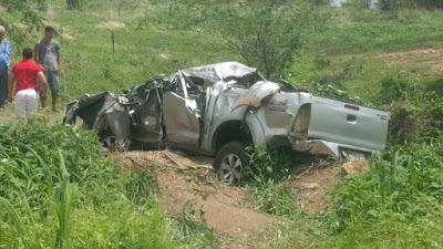 Sobreviventes do acidente que vitimou três pessoas entre Acopiara e Catarina já receberam alta do hospital, duas jovens residem em Catarina.