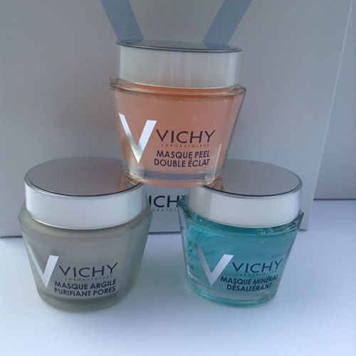 Vichy introduces Multi-Masking with 3 mineral-infused masks ~ #Review #Giveaway #VichyWorksForMe