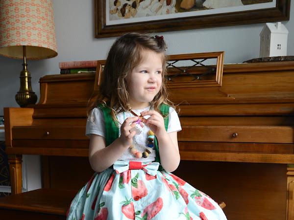 Easter Outfits: Gathered Skirts and DIY Boys Suit Jacket