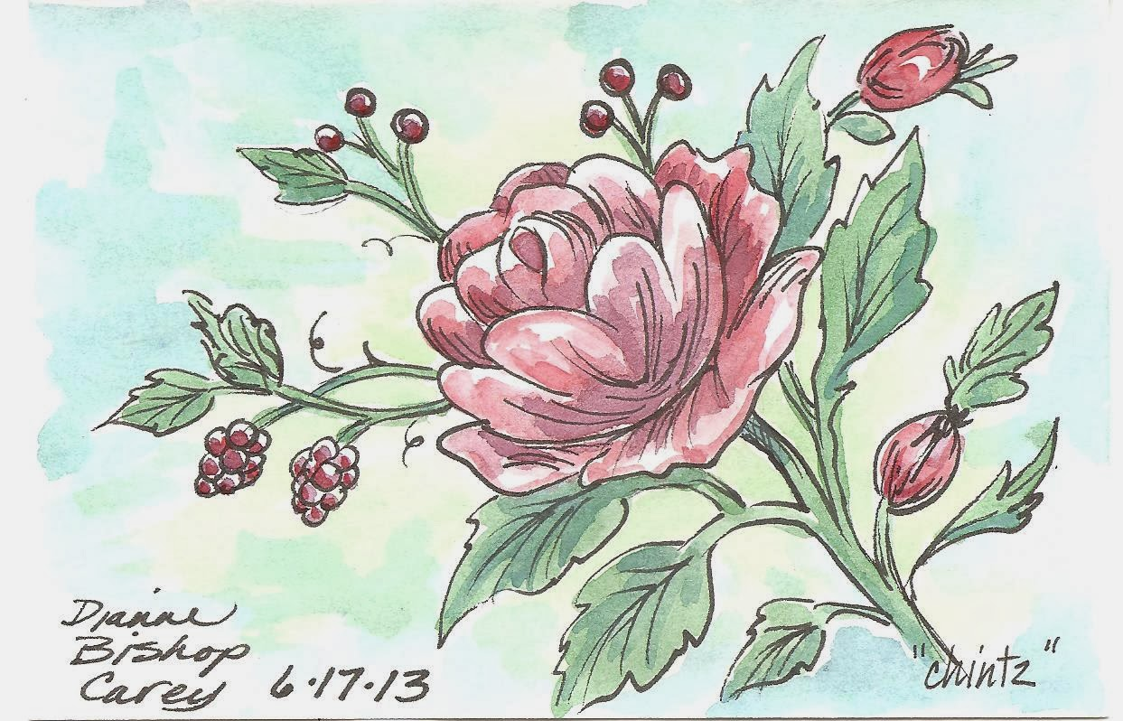 Chintz Rose