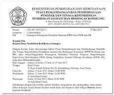 Daftar Nama Guru Yang Diikutsertakan Pada Program PKB di Beberapa Kab/Kota