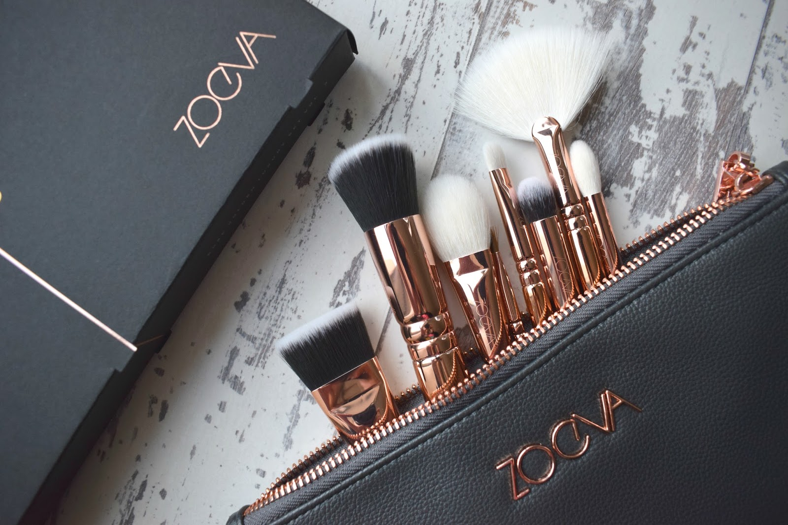 Zoeva Rose Golden Volume Vol 3 Brush Set Collection, Zoeva Rose Gold Vol. 3 Review, Beauty Blog