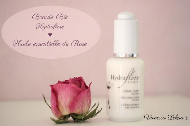 cosmétique bio et français Centella gamme hydraflore à l'huile essentielle de Rose sérum layering Vanessa Lekpa