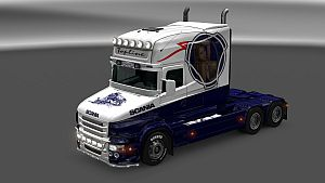 Vabis Blue Train skin for Scania T