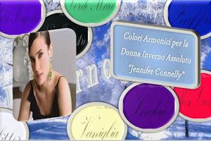 L'Analisi del Colore Jennifer Connelly ovvero la Donna Inverno Assoluto La palette dei colori non armonici