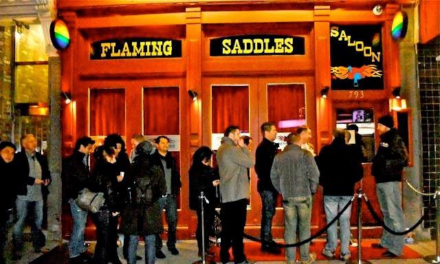 Bar Flaming Saddles
