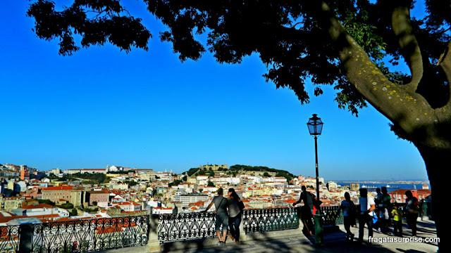Lisboa - Miradouro de São Pedro de Alcântara, Bairro Alto