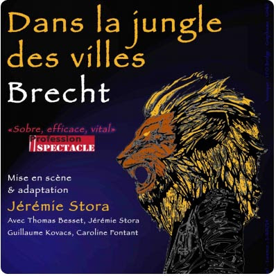 Dans la jungle des villes Tremplin Théâtre Paris