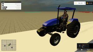 New Holland TL 70 Exitus tractor