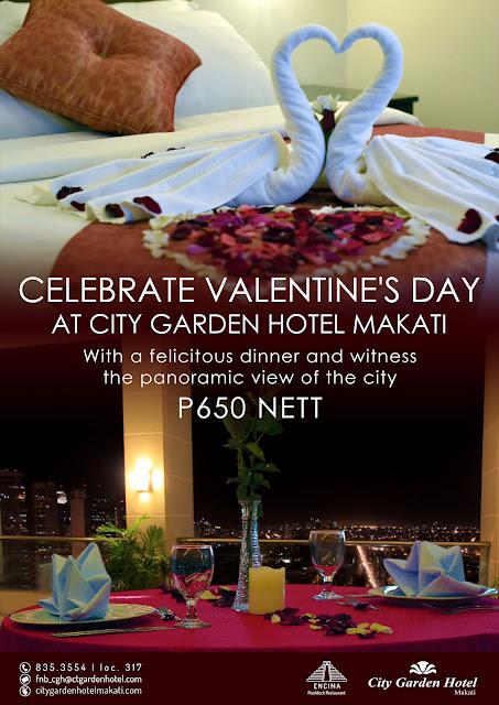 Valentine's Special Menu at Encima Roofdeck Restaurant
